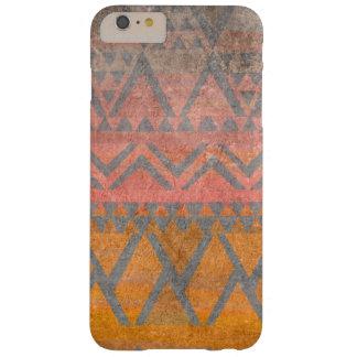 De stammen Etnische Textuur van het Zandsteen van Barely There iPhone 6 Plus Hoesje