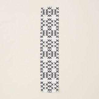 De stammen Geometrische Vormen van de Nomade Sjaal