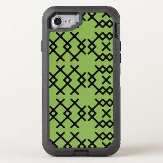 De stammen Geometrische Vormen van de Nomade van OtterBox Defender iPhone 8/7 Hoesje