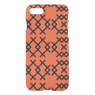 De stammen Geometrische Vormen van de Oranje iPhone 8/7 Hoesje