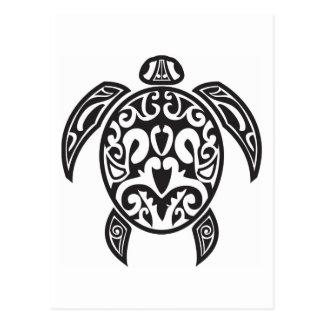 De stammen Schildpad van het Zee Briefkaart