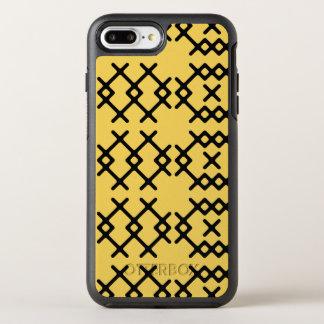 De stammen Sleutelbloem Gele Geometrische Vormen OtterBox Symmetry iPhone 8 Plus / 7 Plus Hoesje