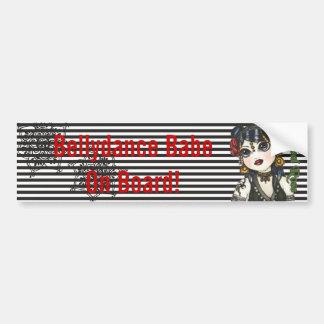 De stammen Sticker van de Auto van de Slogan van Bumpersticker