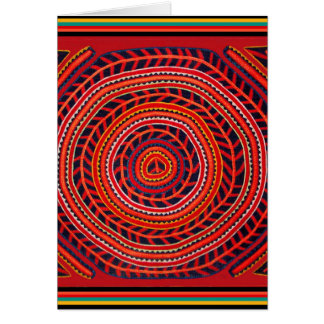 De Stammen Universele Zon van Kuna Briefkaarten 0