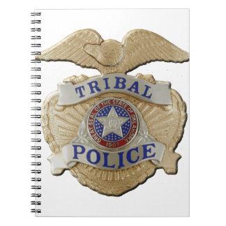 De StammenPolitie van Oklahoma Notitieboek