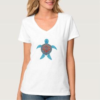 De stammenSchildpad van het Zee T Shirt