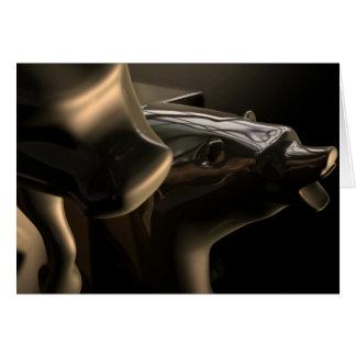 De Standbeelden van de stier en Van de Baissemarkt Kaart