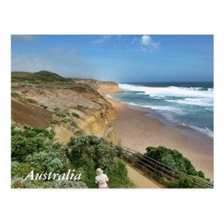 De stappen Gibson van Victoria Australië Briefkaart