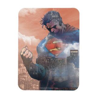 De Status van de superman Rechthoek Magneet