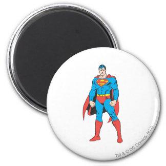 De Status van de superman Ronde Magneet 5,7 Cm