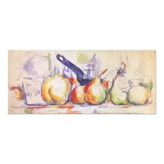 De Steelpan van het stilleven door Cezanne, Aankondigingen