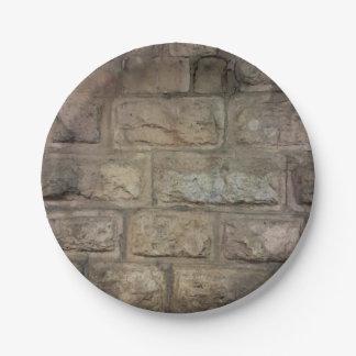 De steen Gestileerde Borden van het Document Papieren Bordjes