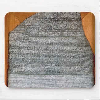 De steen Rosetta, van Fort St. Julien, Muismatten