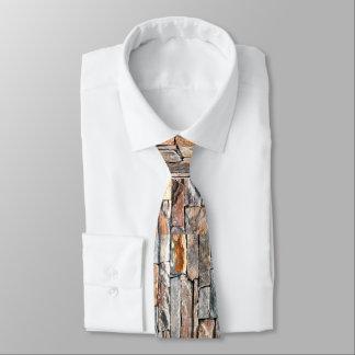 De steen van de vlag custom stropdas
