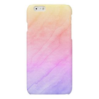 De Steen van de Waterverf van Shell van de moeder Matte iPhone 6 Hoesje