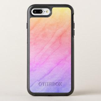 De Steen van de Waterverf van Shell van de moeder OtterBox Symmetry iPhone 8 Plus / 7 Plus Hoesje