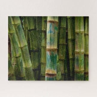 De Stelen van het Bamboe van Maui Puzzel