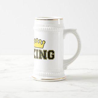 De stenen bierkroes of de mok van de Koning van