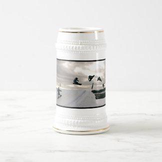 De Stenen bierkroes van het Bier van de Trucs van Bierpul