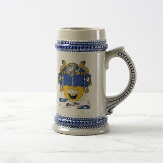 De Stenen bierkroes van het Wapenschild van MacFie Bierpul