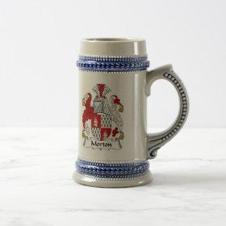 De Stenen bierkroes van het Wapenschild van Morton Bierpul