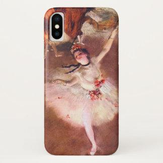 De ster (Danser op het Stadium) door Edgar Degas iPhone X Hoesje