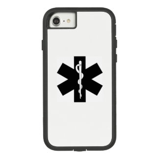 De Ster van de Paramedicus van EMS EMT Case-Mate Tough Extreme iPhone 8/7 Hoesje