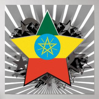 De Ster van Ethiopië Poster