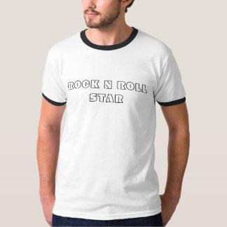 De Ster van het Broodje van de rots n T Shirt