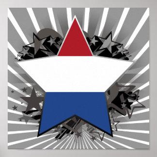 De Ster van Nederland Poster