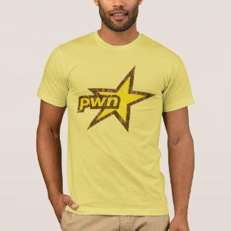De Ster van Pwn - de T-shirt van PwnStar - van