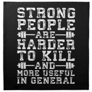De sterke Mensen zijn Moeilijker te doden - Servet