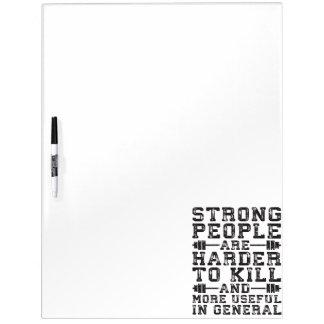 De sterke Mensen zijn Moeilijker te doden - Whiteboards