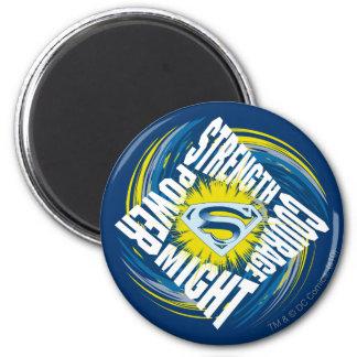 De Sterkte van de Moed van de superman kunnen zou  Koelkast Magneten