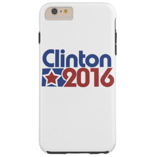 De sterpolitiek van Clinton 2016 Tough iPhone 6 Plus Hoesje
