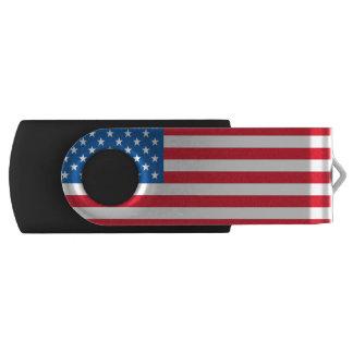 De sterren en de strepen van de Vlag van de V.S. USB Stick