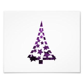 De sterren n streepjes gevlekte purple.png van de  foto prints