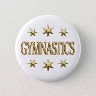 De Sterren van de gymnastiek Ronde Button 5,7 Cm
