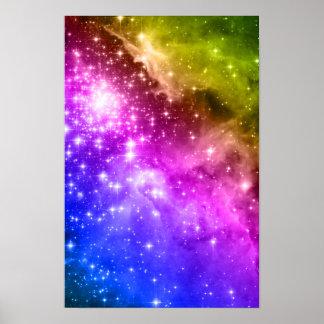 De Sterren van de regenboog Poster