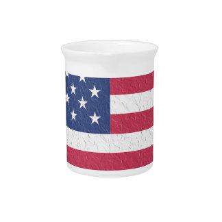 De Sterren van de Vlag van de V.S. Verenigde Pitcher
