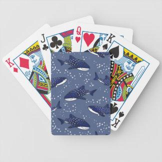 De sterrige (Donkere) Haai van de Walvis Poker Kaarten