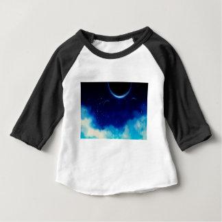 De sterrige Hemel van de Nacht Baby T Shirts