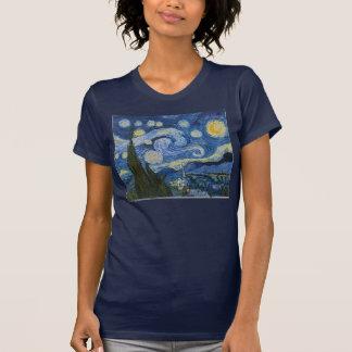 De Sterrige Nacht van Vincent van Gogh T Shirt