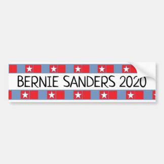De Steun van de Presidentiële Verkiezing van Bumpersticker