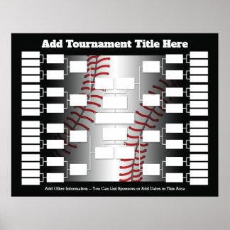 De Steun van de Toernooien van het honkbal voor 32 Poster
