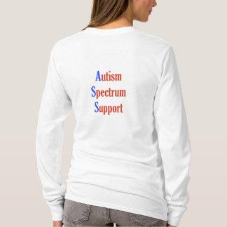De Steun van het Spectrum van het autisme T Shirt
