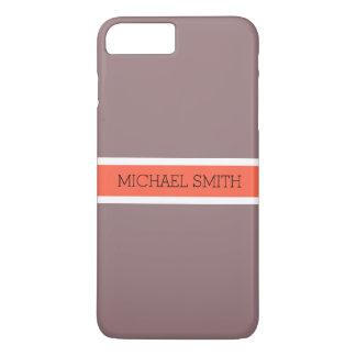 De stevige Elegante Naam van het Lint van de iPhone 8/7 Plus Hoesje
