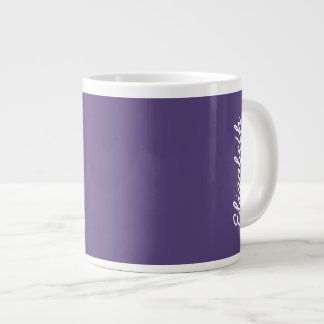 De Stevige Kleur van de druif Grote Koffiekop