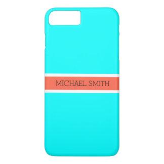 De stevige Moderne Elegante Naam van het Lint van iPhone 8/7 Plus Hoesje