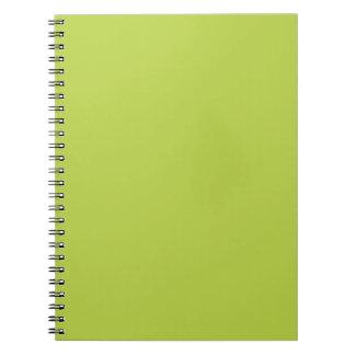 De stevige Tedere Groene Blocnote van Spruiten Ringband Notitieboek